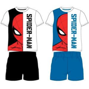 Spiderman pyjamas sæt til børn - shorts