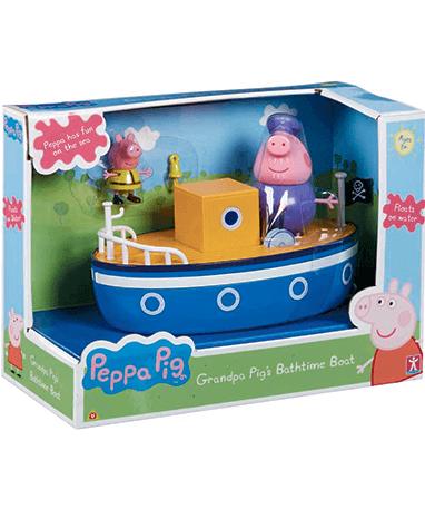 Bedstefar gris båd, Gurli gris legetøj