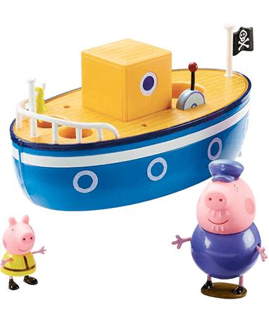 Bedstefar gris badebåd - legetøj