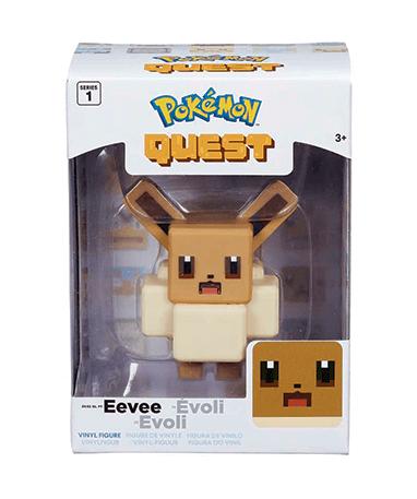 Eevee figur - 10 cm vinyl figur - fra Quest