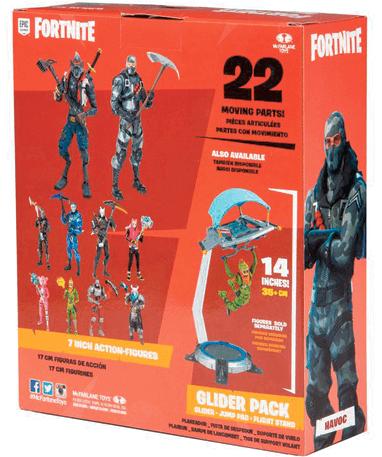 Fortnite Havoc figur pakke bagfra