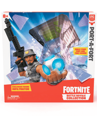 Fortnite legesæt - Port a Fort