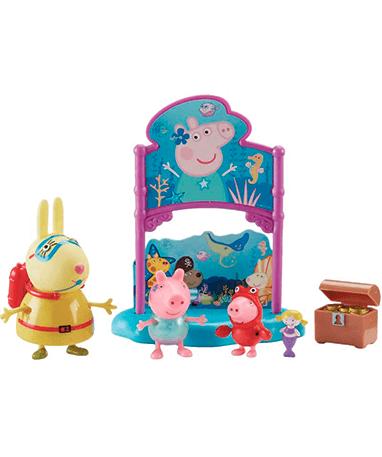 Gurli Gris Under vandet legetøjssæt