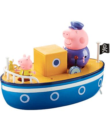 Gurli Gris båd - Bedstefar gris sejler - legetøj