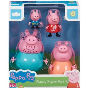 Gurli Gris familie figurer pakke - legetøj