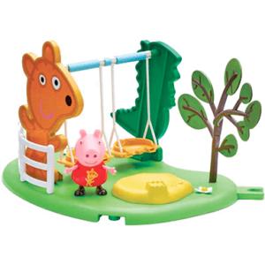 Gurli Gris gyngestativ legetøjssæt