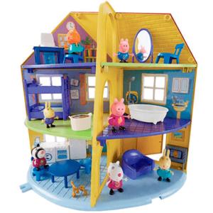 Gurli Gris hus - Stort legesæt - dukkehus