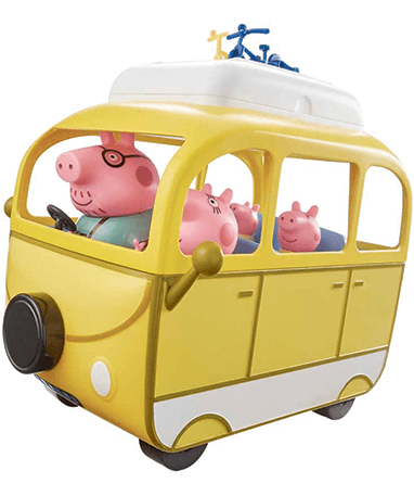 Gurli Gris - i campingbilen