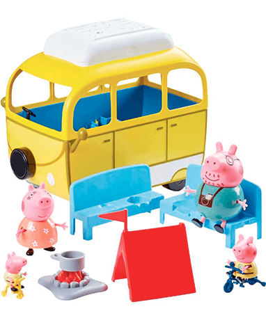 Gurli gris legetøj - campingvogn