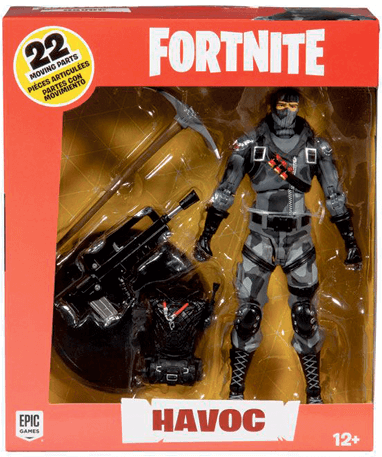 Havoc actionfigur pakke - Fortnite