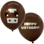 10 stk. Brun balloner