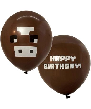 Minecraft ballon - Brun