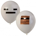 10 stk. Grå balloner
