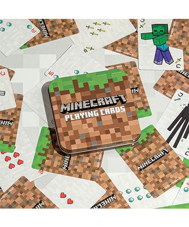Minecraft spillekort - med figurer