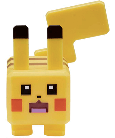 Pikachu figur - 10cm figur - Quest