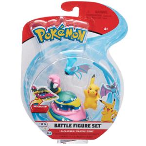 3 Pokemon figure - assorteret