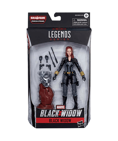 Black widow actionfigur - i kasse