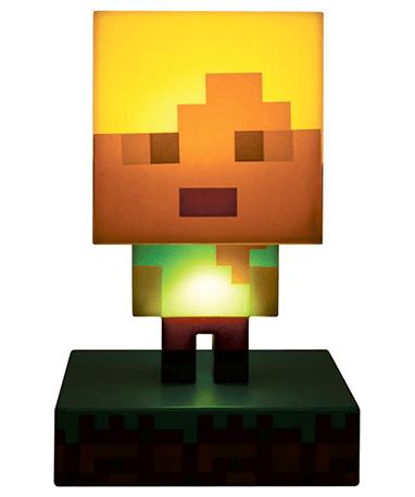 Minecraft 3d alex figur - med lys