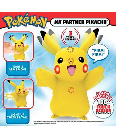 Pikachu figur - med lyd