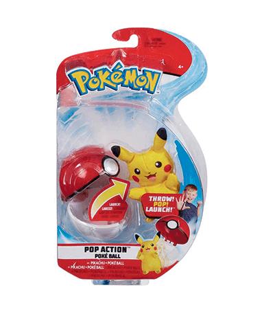 Pokeball figurer - assorteret - Pokemon go