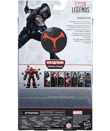 Taskmaster actionfigur - Black Widow - kasse