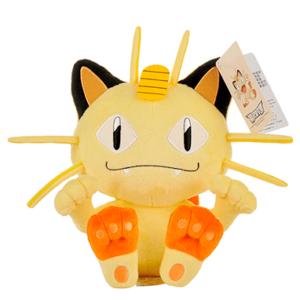 Meowth bamse - 25cm - pokemon