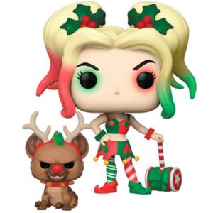 Harley Quinn julekostume figur - Funko pop