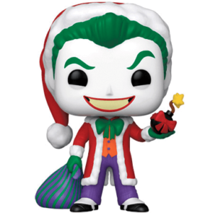 Joker som julemand Funko pop figur