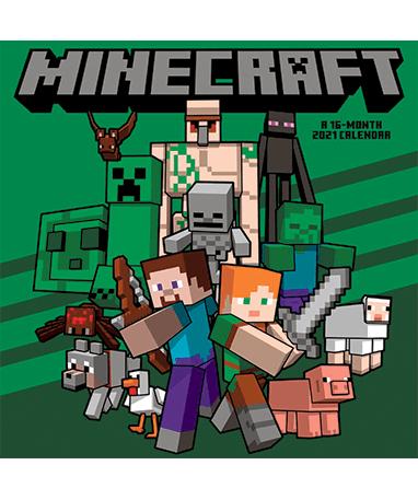 Minecraft 2021 kalender