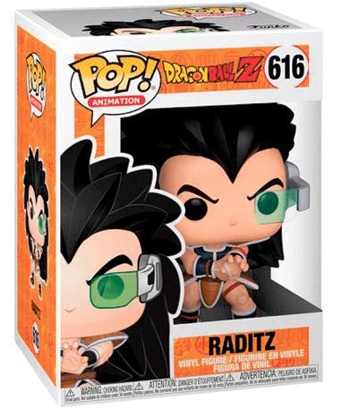 Raditz funko pop figur - DBZ