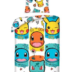 Pokémon sengetøj - Pikachu, charmander, squirtle