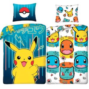 Pokemon sengetøj - vælg mellem 2