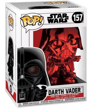 Darth vader figur - rød - star wars RD CH