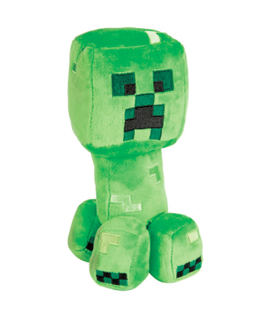Minecraft Creeper bamse 18 cm & 27cm