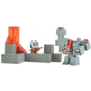 Minecraft Mini dungeons actionfigurer - 7cm bred