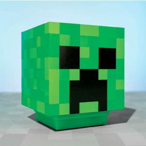 Minecraft creeper lampe - Firkantet - 11cm
