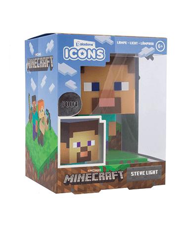 Minecraft figur med lys