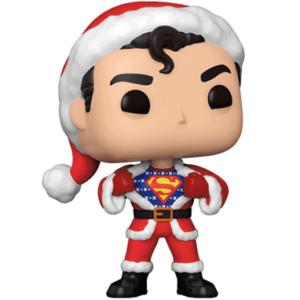 Superman figur - med julesweater Funko pop