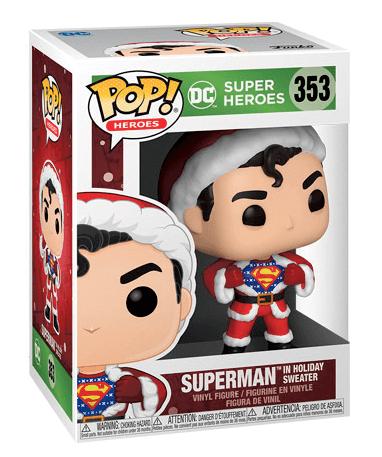 Superman i julekostume - Funko pop figur