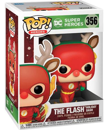 The Flash funko pop figur - I julekostume
