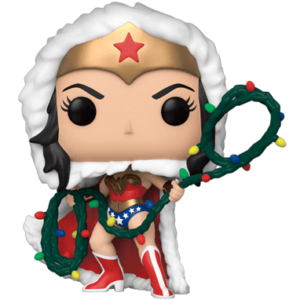 Wonder Woman Julekostume - Funko pop figur