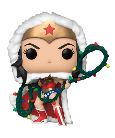 Wonder Woman Julekostume - Funko pop figur