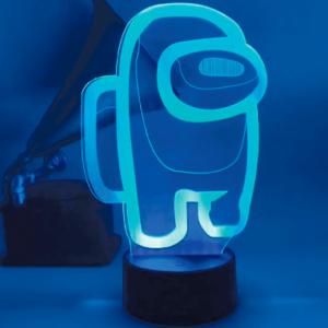 Among us 3d lampe