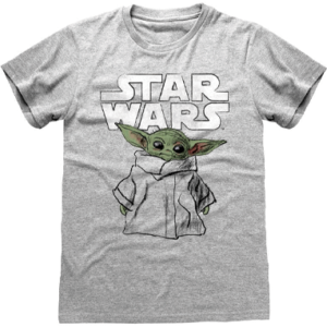 Baby Yoda t-shirt til voksne - The Mandalorian