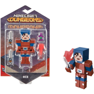 Minecraft Hex actionfigur