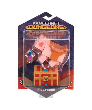 Minecraft Piggybank actionfigur