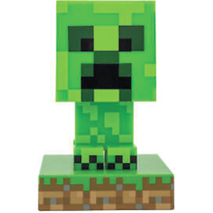 Minecraft creeper figur med lys - 10cm