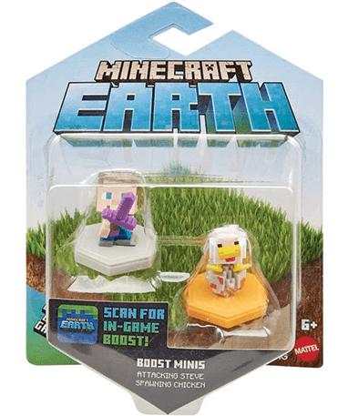 Minecraft figure - 2 stk - assorteret