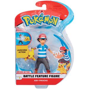 Pokemon figurer - Pikachu & Ash