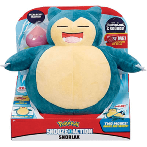 Snorlax bamse - med lyd
